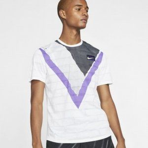 Nike My Court Dri-FIT Challenger Crew Tennis Shirt